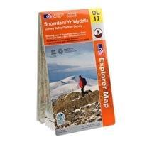 Ordnance Survey Explorer Snowdonia Snowdon Map Review