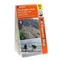 Ordnance Survey Explorer English Lakes South West Map Review