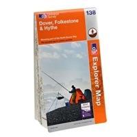 Ordnance Survey Explorer Dover Folkestone and Hythe Map Review