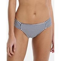 Seafolly Riviera Stripe Ruched Side Retro Pant Review